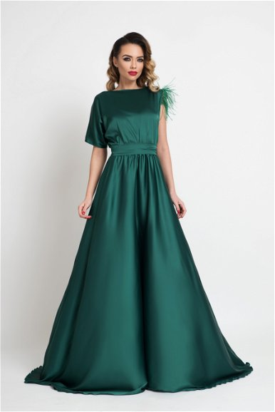Rochie lunga Esther Be Green