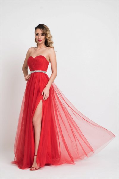Rochie lunga Ania Red