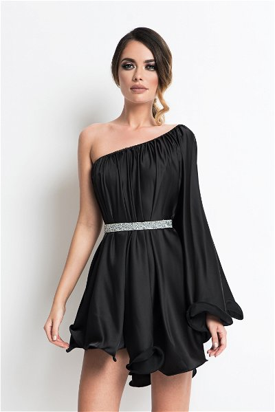 Rochie scurta butterfly one black