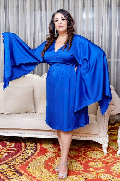 Rochie Butterfly Royal Blue